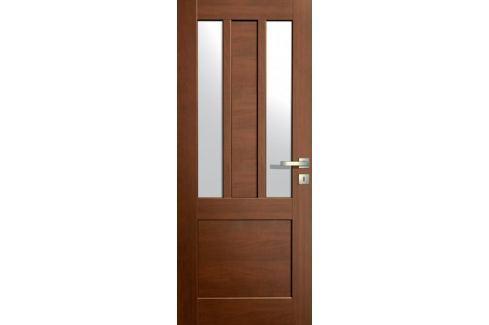 Dárek VASCO DOORS Interiérové dveře LISBONA kombinované, model 4, Ořech, C Produkty