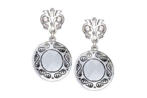 Dárek Preciosa Náušnice Magical Ornament čiré 6027 20 stříbro 925/1000 Náušnice